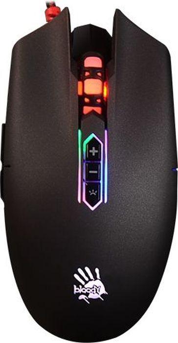 A4Tech Bloody Q80, Black игровая мышь482452Игровая мышь начального уровняКак выбрать игровую мышь. Статья OZON Гид