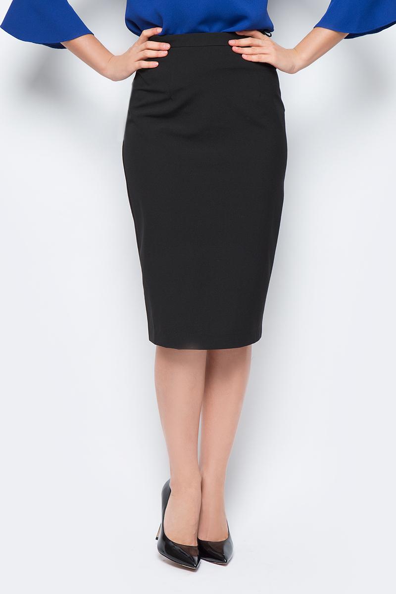 Юбка женская adL, цвет: черный. 12732327000_001. Размер XS (40/42) блуза adl adl ad005ewvpi02