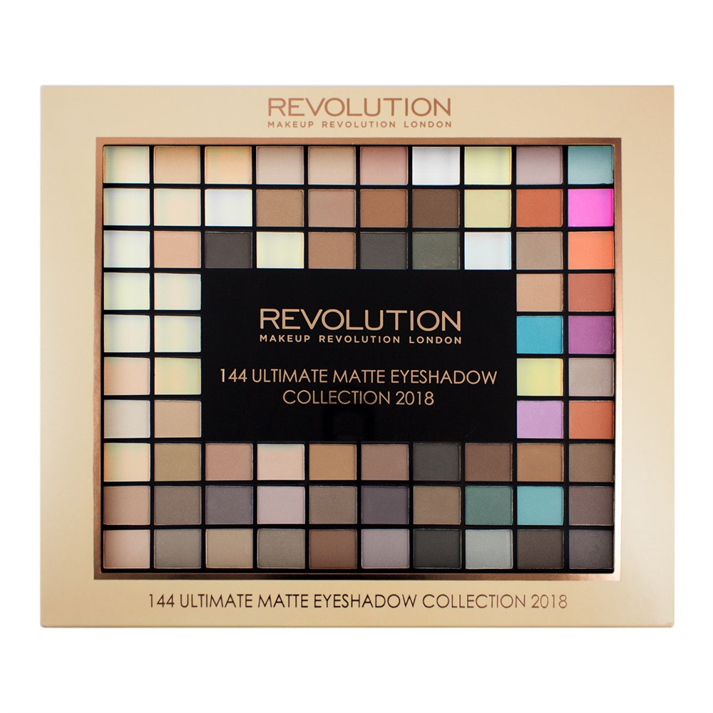 Makeup Revolution Набор из 144 теней Ultimate Matte Eyeshadow Collection 2018 для глаз catrice the ultimate chrome collection eyeshadow palette