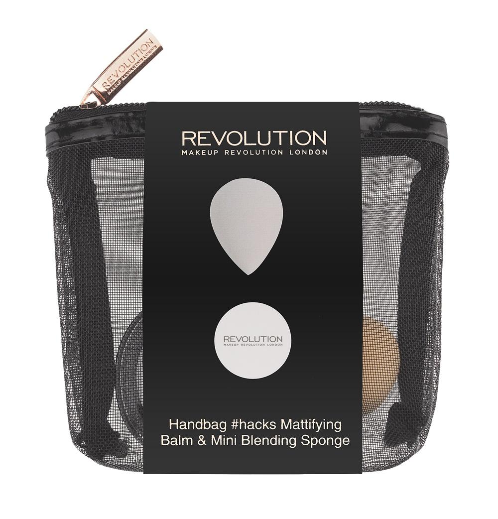 Makeup Revolution Набор для макияжа Handbag Hacks Mattifying Balm & Mini Blending Sponge makeup revolution набор для макияжа revoholic edit