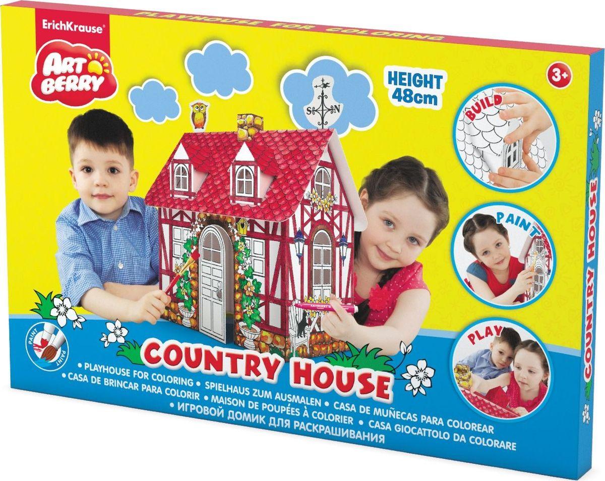 Erich Krause Набор для росписи Art Berry Country house игровые домики