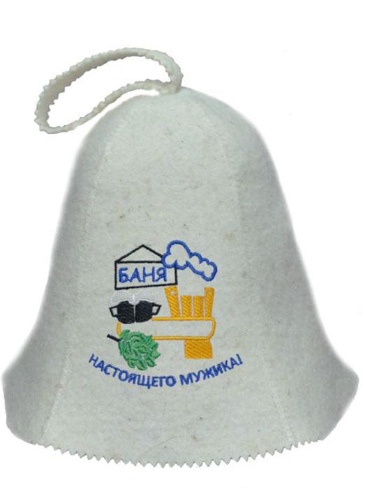 Шапка для бани и сауны Ecology Sauna Баня настоящего мужикаДЮН-К126-31Необходимый предмет в бане и сауне. Изготовлен из овечий шерсти. Защищает голову от перегрева и ожогов. Прекрасно впитывает влагу и пот. Сделает Ваше посещение парилки комфортным и безопасным. Колпак для сауны не только предохраняет от вредного воздействия, но и является модным аксессуаром. Может быть отличным подарком к празднику .