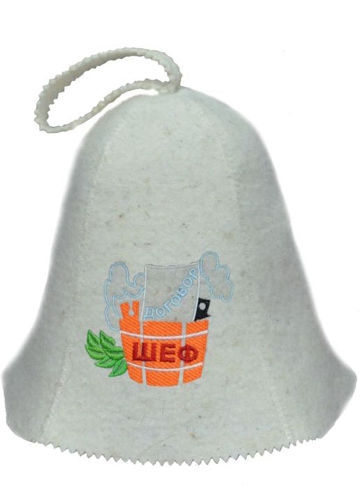 Шапка для бани и сауны Ecology Sauna ШефДЮН-К126-32Необходимый предмет в бане и сауне. Изготовлен из овечий шерсти. Защищает голову от перегрева и ожогов. Прекрасно впитывает влагу и пот. Сделает Ваше посещение парилки комфортным и безопасным. Колпак для сауны не только предохраняет от вредного воздействия, но и является модным аксессуаром. Может быть отличным подарком к празднику .