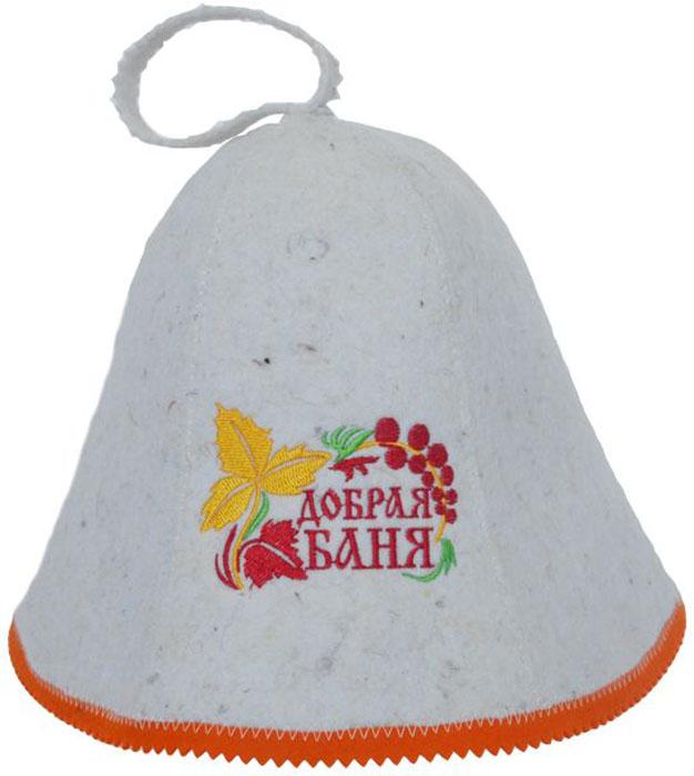 Шапка для бани и сауны Ecology Sauna Добрая баняДЮН-К126-45кНеобходимый предмет в бане и сауне. Изготовлен из овечий шерсти. Защищает голову от перегрева и ожогов. Прекрасно впитывает влагу и пот. Сделает Ваше посещение парилки комфортным и безопасным. Колпак для сауны не только предохраняет от вредного воздействия, но и является модным аксессуаром. Может быть отличным подарком к празднику .