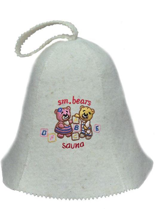 Шапка для бани и сауны детский Ecology Sauna Маленькие мишкиДЮН-К126-57Необходимый предмет в бане и сауне. Изготовлен из овечий шерсти. Защищает голову от перегрева и ожогов. Прекрасно впитывает влагу и пот. Сделает Ваше посещение парилки комфортным и безопасным. Колпак для сауны не только предохраняет от вредного воздействия, но и является модным аксессуаром. Может быть отличным подарком к празднику .