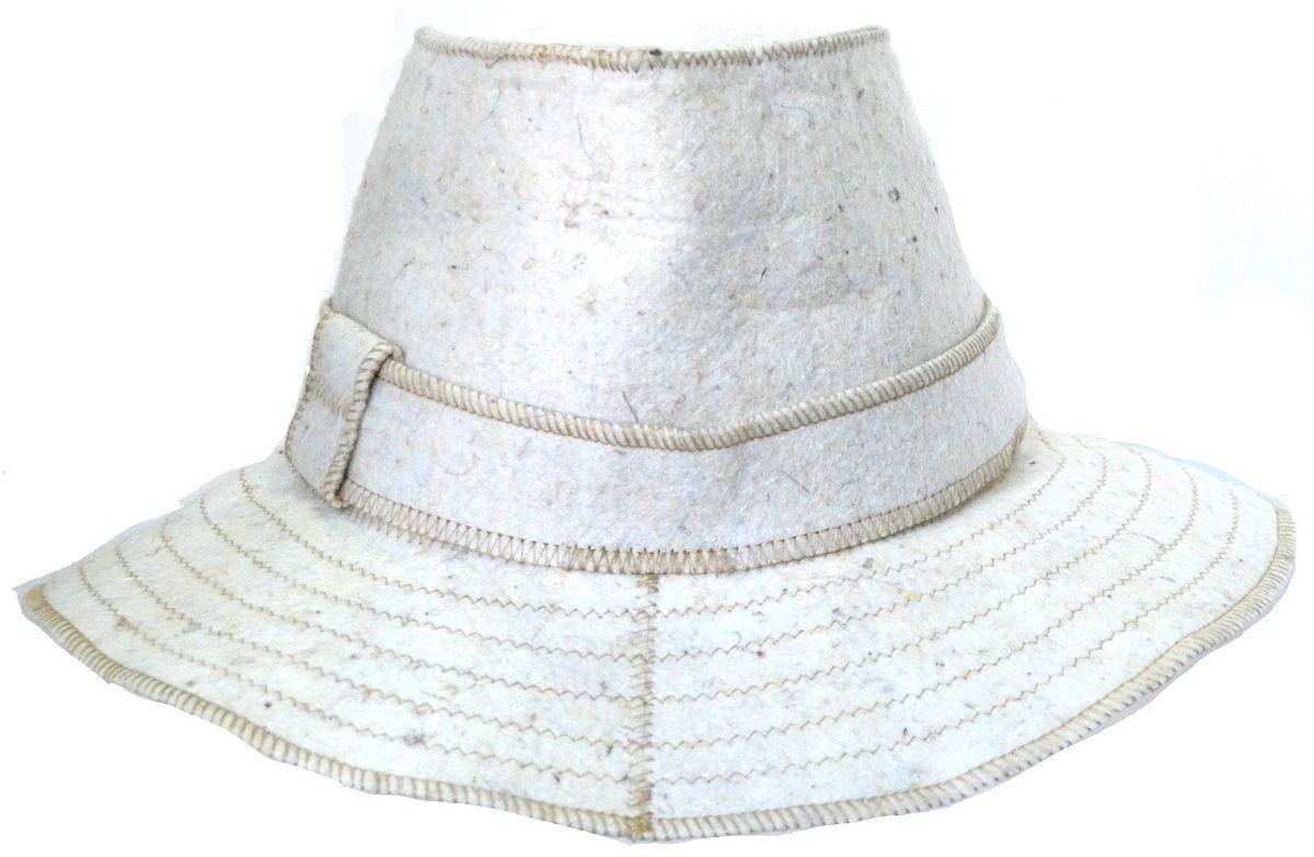 Шапка для бани и сауны Ecology Sauna ГардемаринДЮН-К144Необходимый предмет в бане и сауне. Изготовлен из овечий шерсти. Защищает голову от перегрева и ожогов. Прекрасно впитывает влагу и пот. Сделает Ваше посещение парилки комфортным и безопасным. Колпак для сауны не только предохраняет от вредного воздействия, но и является модным аксессуаром. Может быть отличным подарком к празднику .