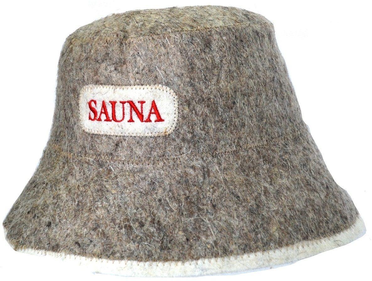 Шапка для бани и сауны Ecology Sauna Панама, цвет: серая шерстьДЮН-К152Необходимый предмет в бане и сауне. Изготовлен из овечий шерсти. Защищает голову от перегрева и ожогов. Прекрасно впитывает влагу и пот. Сделает Ваше посещение парилки комфортным и безопасным. Колпак для сауны не только предохраняет от вредного воздействия, но и является модным аксессуаром. Может быть отличным подарком к празднику .