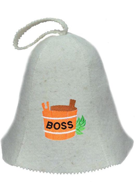 Шапка для бани и сауны Ecology Sauna BossДЮН-Кф126-8Необходимый предмет в бане и сауне. Изготовлен из овечий шерсти. Защищает голову от перегрева и ожогов. Прекрасно впитывает влагу и пот. Сделает Ваше посещение парилки комфортным и безопасным. Колпак для сауны не только предохраняет от вредного воздействия, но и является модным аксессуаром. Может быть отличным подарком к празднику .