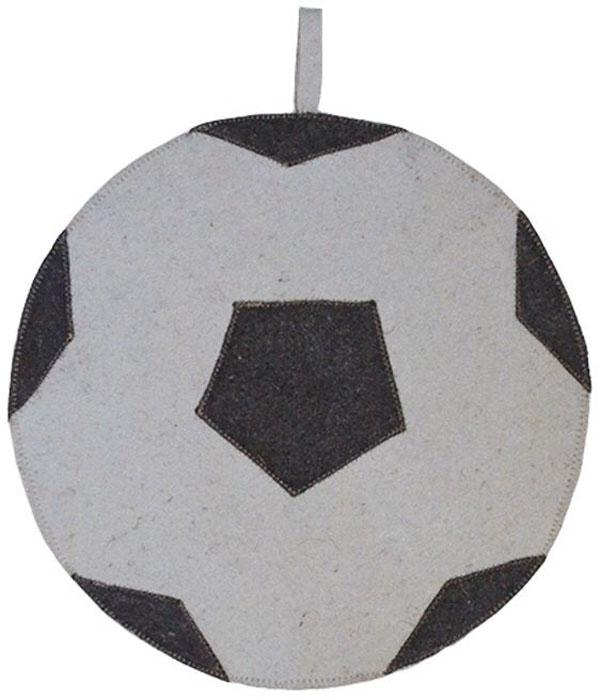 Коврик для бани и сауны Ecology Sauna Мяч, цвет: серый, черный