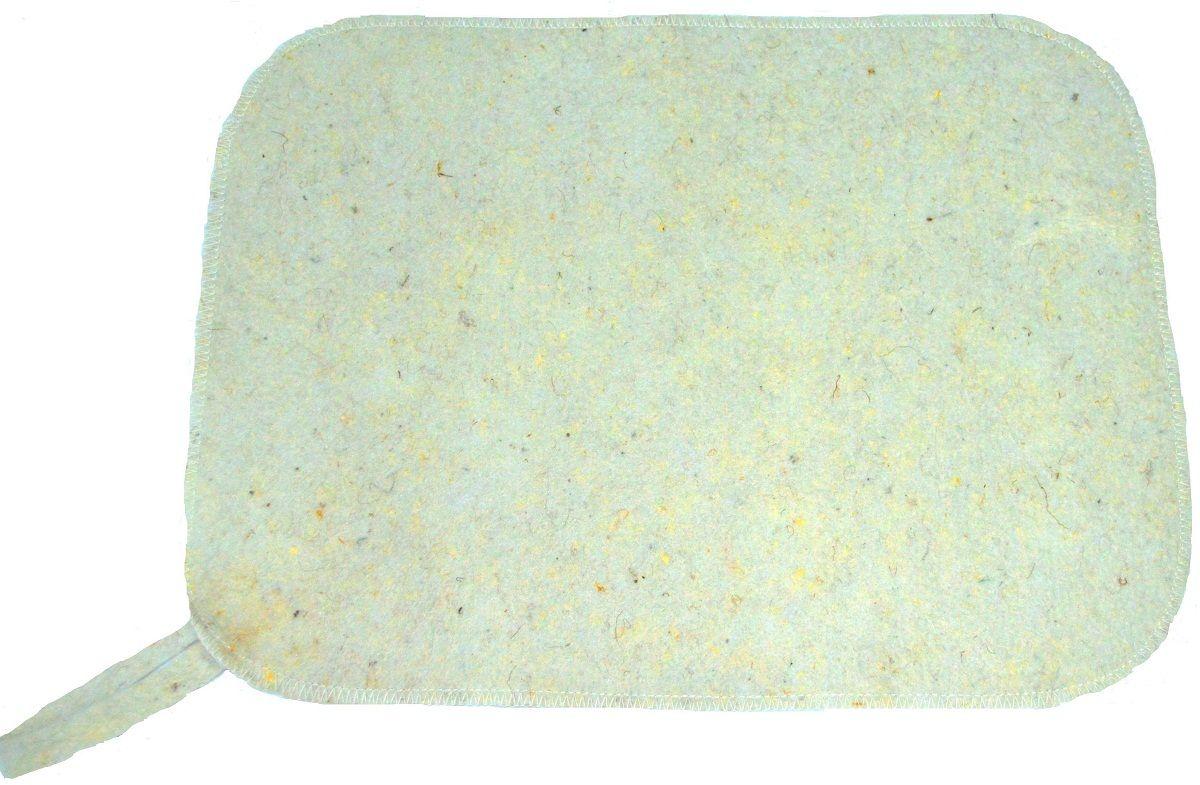 Коврик для бани и сауны Ecology Sauna Эконом, цвет: белыйДЮН-ЭК006Изготовлен из овечий шерсти. Используется для безопасности в парилке. Защищает тело от ожогов и бактерий. Приятный на ощупь, не вызывает раздражения кожи. Обладает гипо аллергенным свойством.. Изделие из войлока отличается долговечностью и сохраняет свой внешний вид в течении длительного времени.