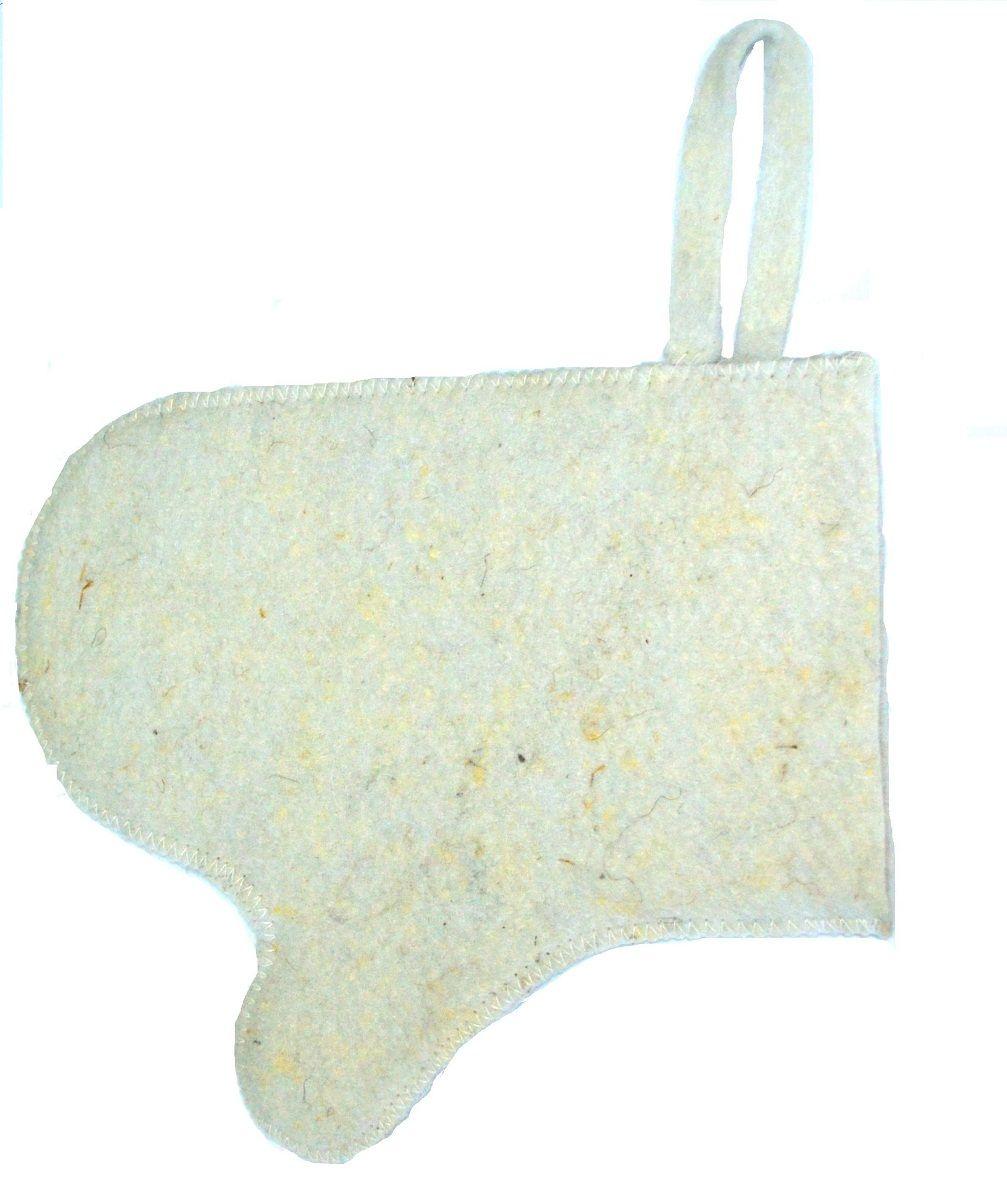 Рукавица для бани и сауны Ecology Sauna Эконом, цвет: белыйДЮН-Р129кНеобходимый атрибут банщика. Рукавица изготовлена из овечий шерсти, экологичного и долговечного материала. Обеспечивает безопасность и комфорт, защищает руки от горячих предметов в парилке. Предусмотрена удобная петля для подвешивания.