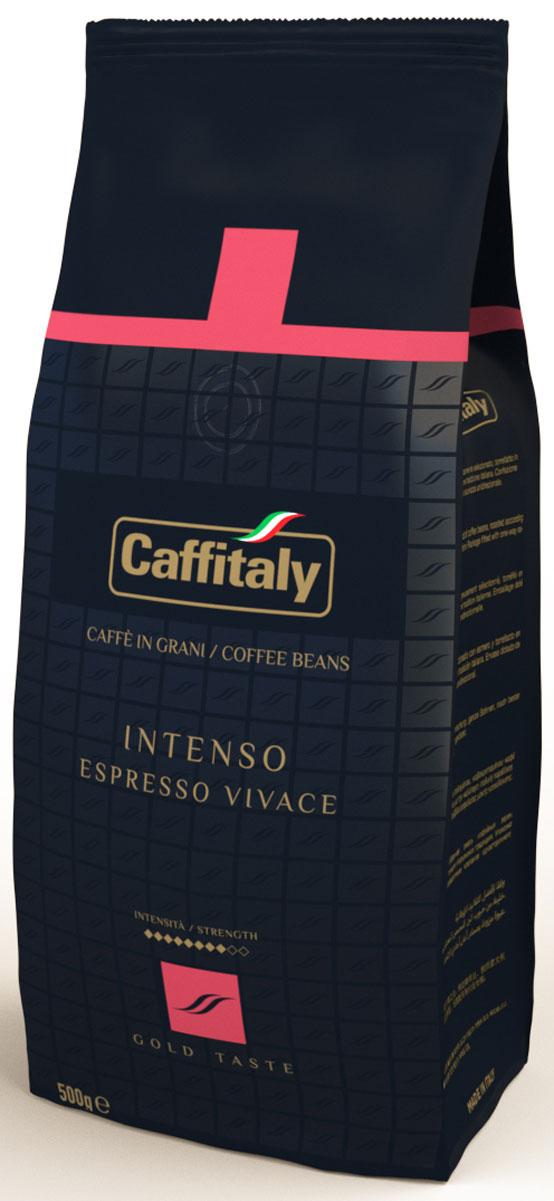 Caffitaly Ecaffe Intenso кофе в зернах, 500 г кофе caffitaly кофе в капсулах mesico