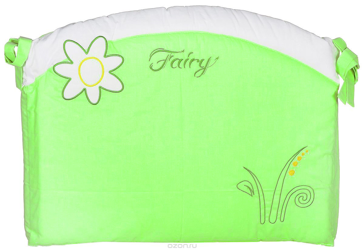 Fairy Бортик в кроватку На лугу