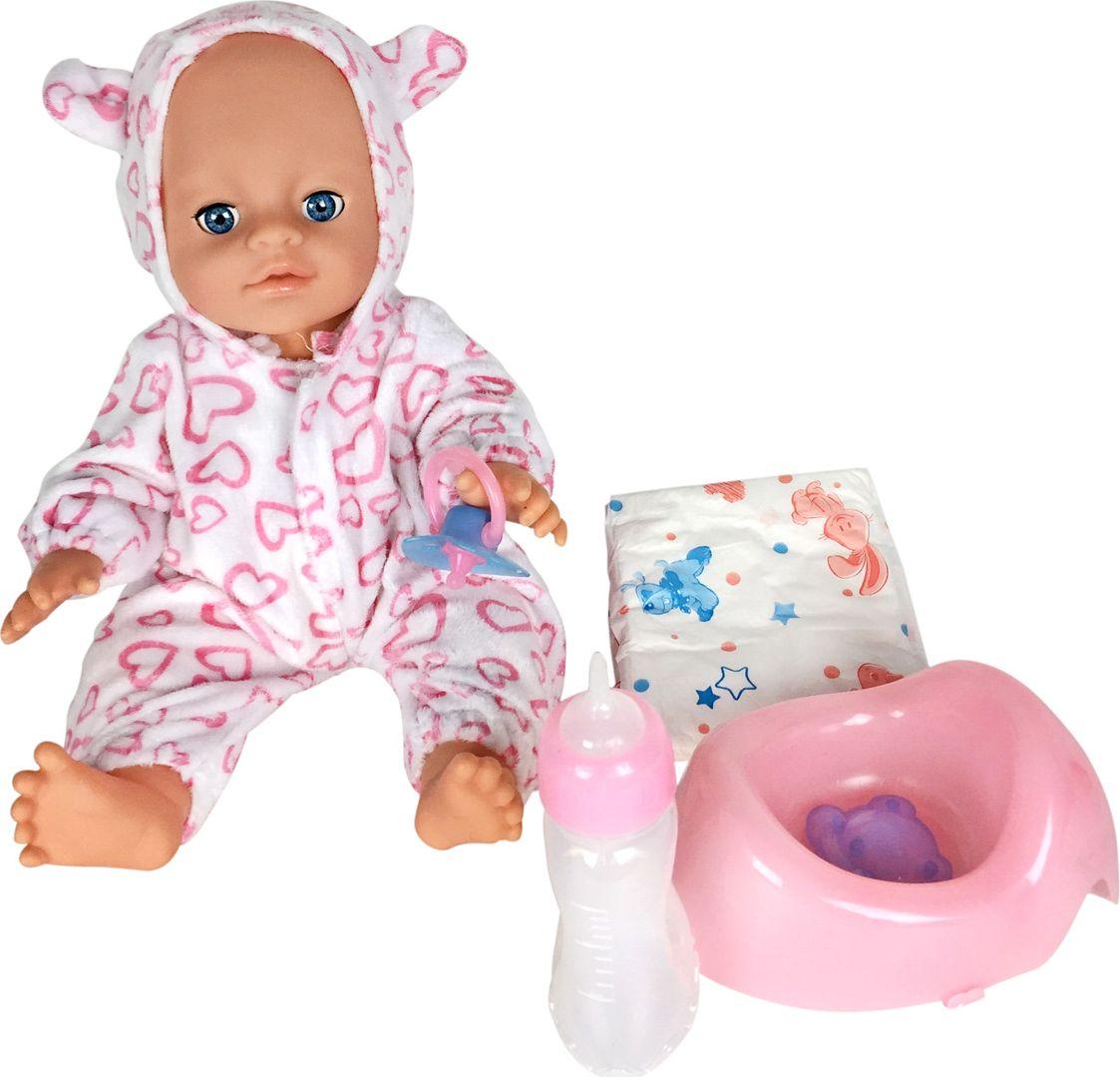 Lisa Jane Пупс с горшком 35 см 59465 кукла интерактивная lisa jane mami в розовом 40 см