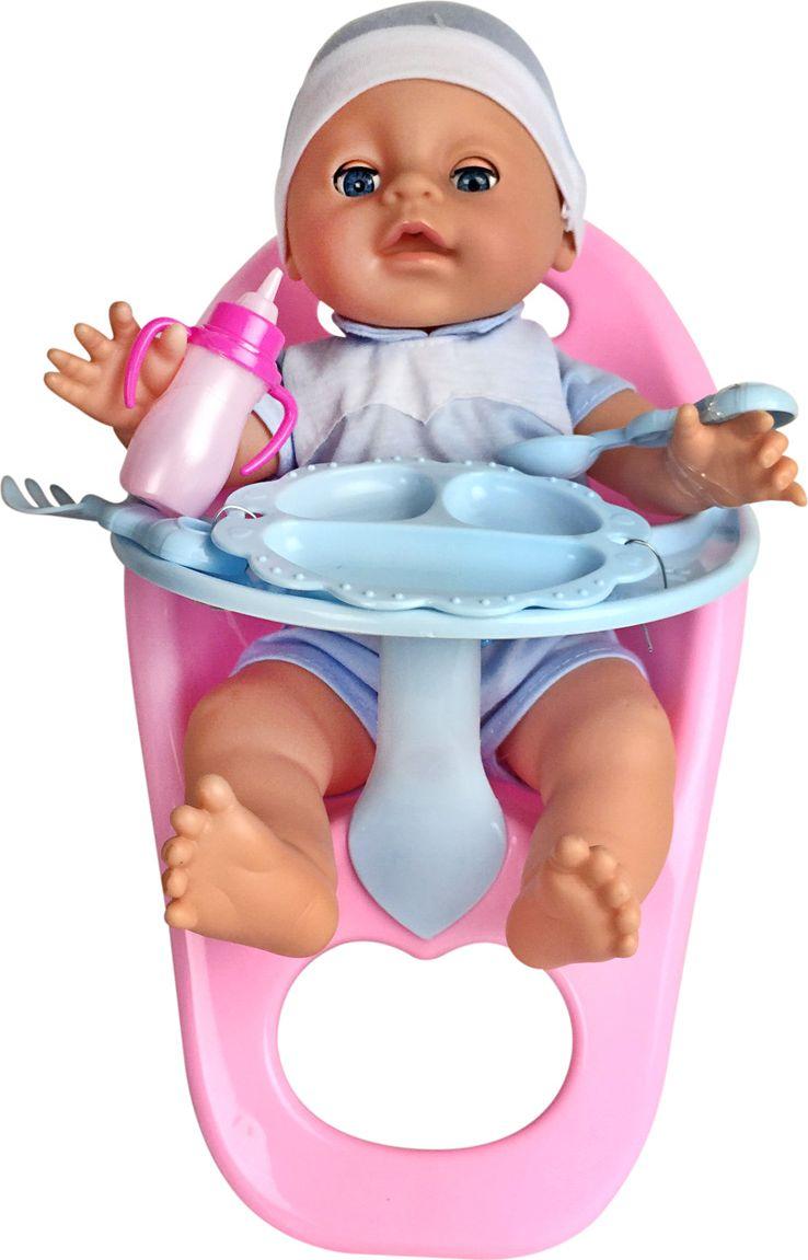 Lisa Jane Пупс со стульчиком для кормления цвет одежды голубой куклы и одежда для кукол lisa jane кукла ем мороженое
