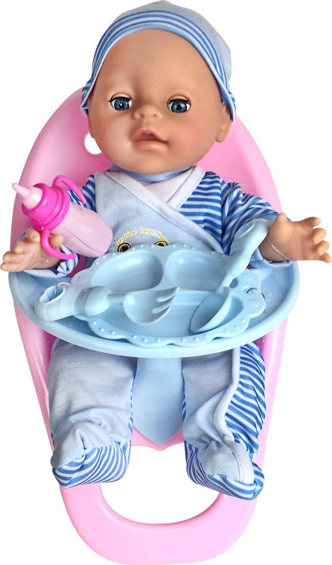 Lisa Jane Пупс со стульчиком для кормления 35 см 59482 lisa corti короткое платье