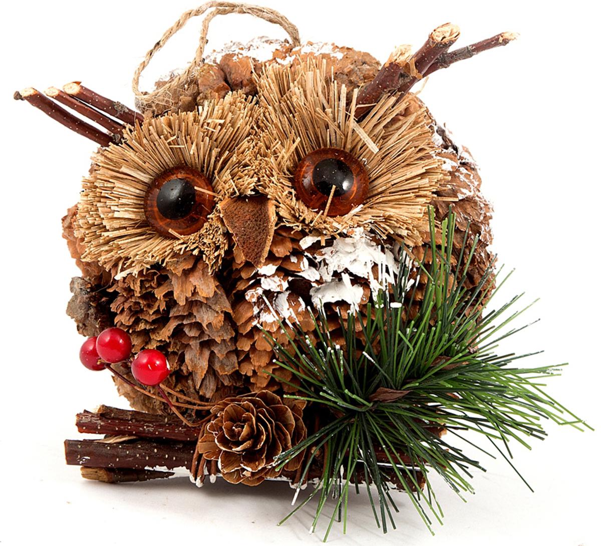Игрушка ёлочная Совушка 11*9*10 см . 170671170671Елочная игрушка, символ приближающегося праздника. Она послужит прекрасным подарком как для ребенка , так и для взрослого, а так же дополнит новогодний интерьер.