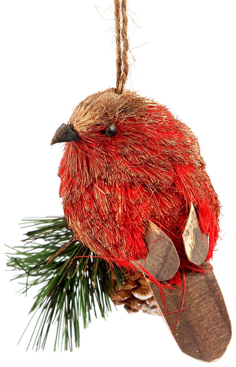 Игрушка ёлочная Птичка 12*9*12 см . 170679170679Елочная игрушка, символ приближающегося праздника. Она послужит прекрасным подарком как для ребенка , так и для взрослого, а так же дополнит новогодний интерьер.