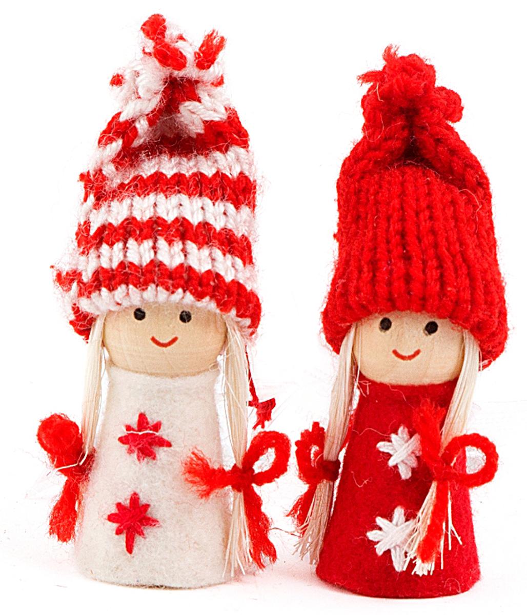 Новогоднее украшение Девочка, высота 8 см . 197408197408Елочная игрушка, символ приближающегося праздника. Она послужит прекрасным подарком как для ребенка , так и для взрослого, а так же дополнит новогодний интерьер.