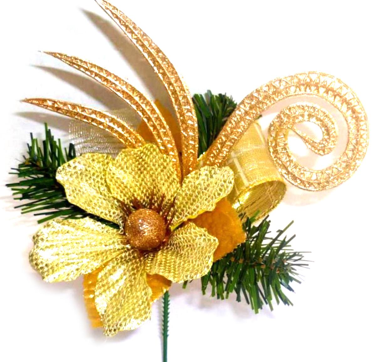 Новогоднее декоративное украшение Рождественское, высота 18 см. 270410270410В преддверии праздника принято украшать интерьер. Готовое украшение Рождественское прекрасно справиться с этой задачей, создаст атмосферу праздника и настроения.