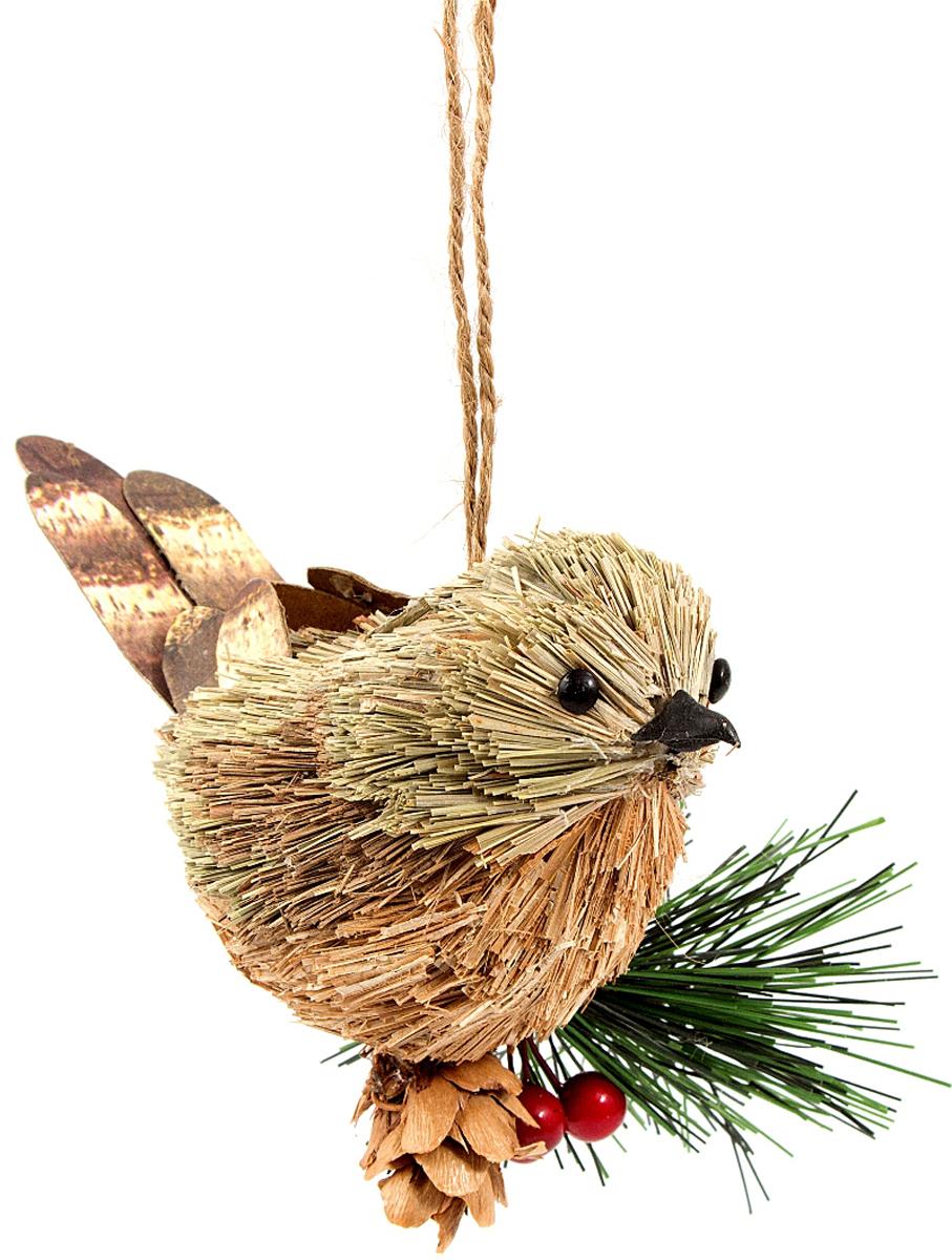 Игрушка ёлочная Птичка 11*6*10 см . 270620270620Елочная игрушка, символ приближающегося праздника. Она послужит прекрасным подарком как для ребенка , так и для взрослого, а так же дополнит новогодний интерьер.