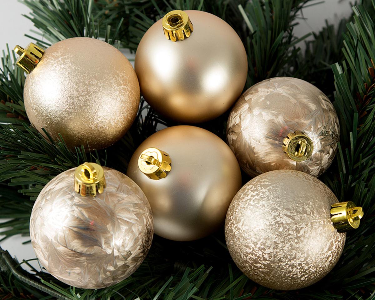 Набор елочных игрушек Шары, цвет: шампань, диаметр 6 см, 6 шт. 7106171061Набор игрушек Шары прекрасно подойдет для праздничного декора новогоднейели. Он включает 6 пластиковых шаров. Каждый шар оснащен петелькой, черезкоторую можно пропустить шнурок.Елочная игрушка - символ Новогогода. Она несет в себе волшебство и красоту праздника. Создайте в своем домеатмосферу веселья и радости, украшая новогоднюю елку нарядными игрушками,которые будут из года в год накапливать теплоту воспоминаний.Откройте для себя удивительный мир сказок и грез. Почувствуйте волшебныеминуты ожидания праздника, создайте новогоднее настроение вашим дорогим и близким.