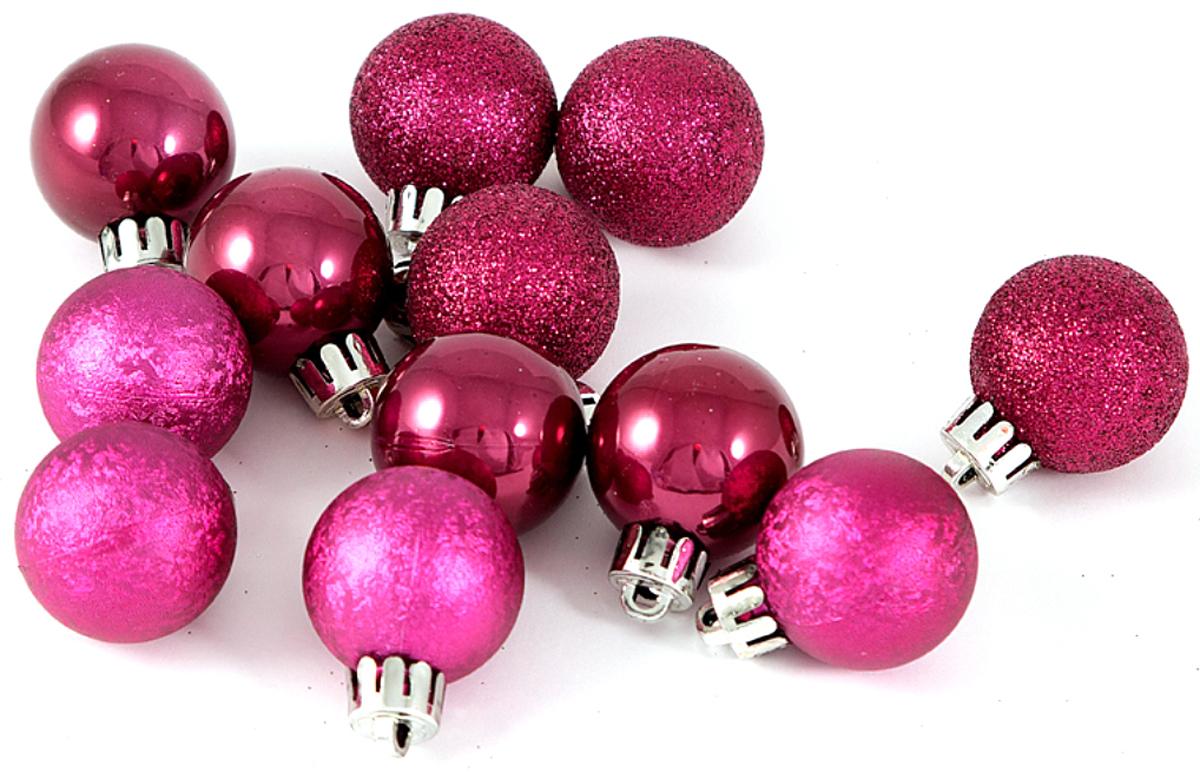 Набор новогодних подвесных украшений Шары, цвет: темно-розовый, диаметр 60 мм, 6 шт71072Елочная игрушка, символ приближающегося праздника. Она послужит прекрасным подарком как для ребенка, так и для взрослого, а так же дополнит новогодний интерьер.