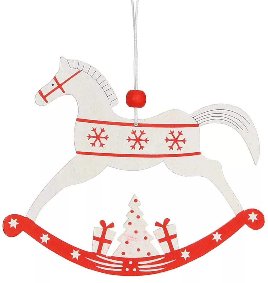 Набор декоративных украшений Лошадка из 3 шт, 13*13*3 см . 7288572885Елочная игрушка, символ приближающегося праздника. Она послужит прекрасным подарком как для ребенка , так и для взрослого, а так же дополнит новогодний интерьер.