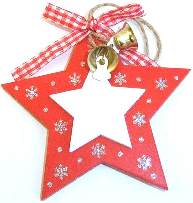 Украшение декоративное Звездочка 10*10*2 см . 7289172891Елочная игрушка, символ приближающегося праздника. Она послужит прекрасным подарком как для ребенка , так и для взрослого, а так же дополнит новогодний интерьер.