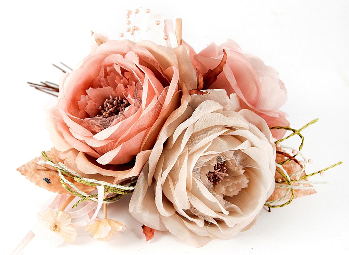 Украшение декоративное Букет из 3 цветков. 7796377963В преддверии праздника принято украшать интерьера. Готовое украшение Букет из 3 цветков прекрасно справиться с этой задачей, создаст атмосферу праздника и настроения.