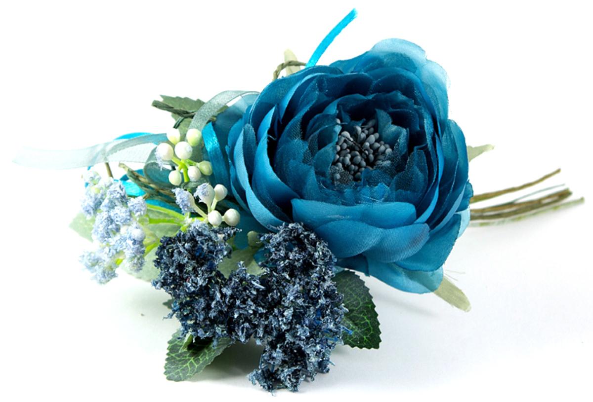 Декоративное украшение Роза, 7 см. 7797377973В преддверии праздника принято украшать интерьер. Готовое украшение прекрасно справиться с этой задачей, создаст атмосферу праздника и настроения.