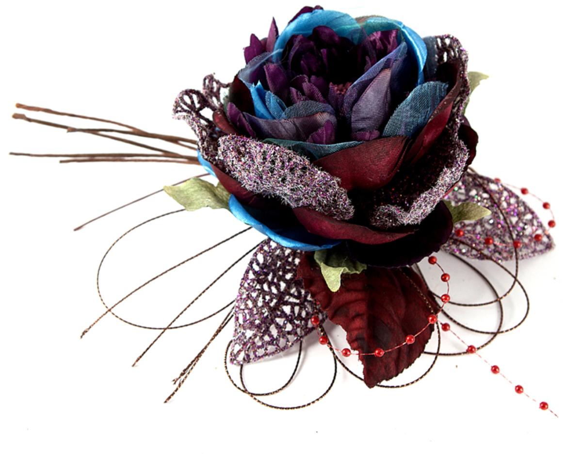 Украшение декоративное Роза. 7797477974В преддверии праздника принято украшать интерьер. Готовое украшение Роза прекрасно справиться с этой задачей, создаст атмосферу праздника и настроения.