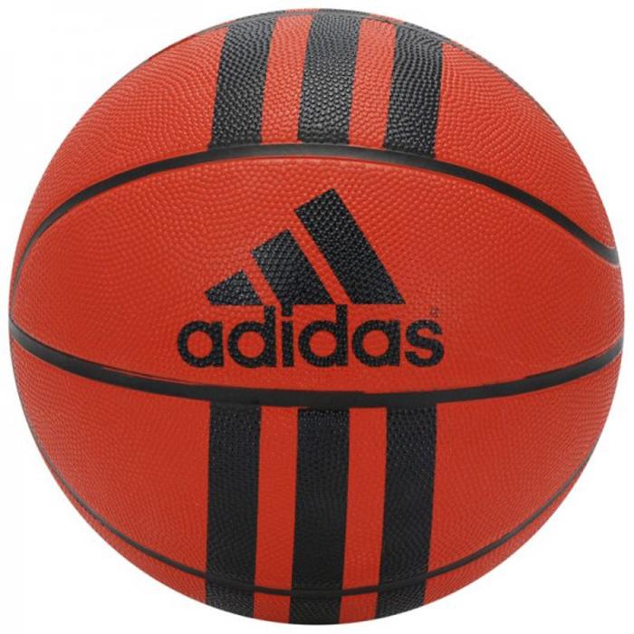 Мяч баскетбольный Adidas 3 Stripe, цвет: оранжевый. Размер 7218977Прочный мяч создан для любительской игры. Подойдет как в зал, так и на улицу. Состоит из 8 панелей