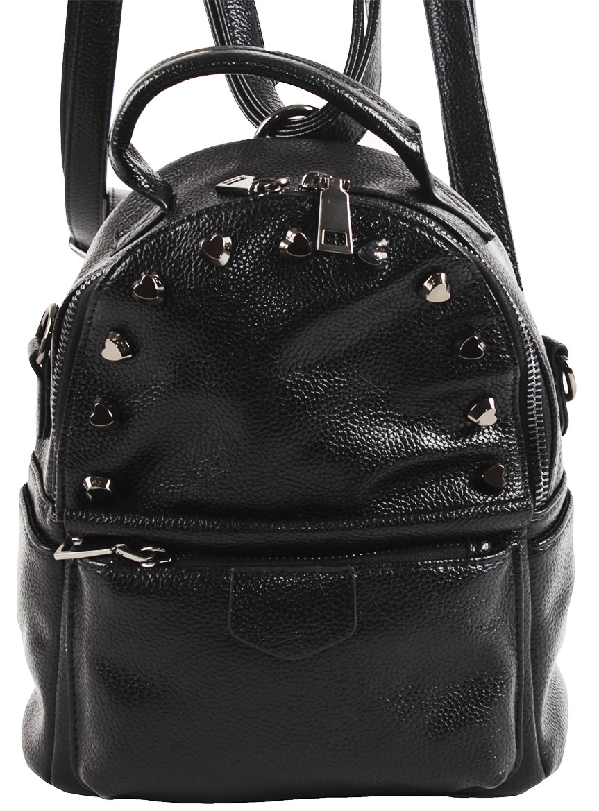 Рюкзак женский Flioraj, цвет: черный. 8005-1605/101