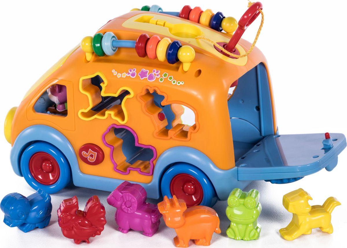 Baby Care Сортер Автобус BC1009 jia le toys автобус сортер