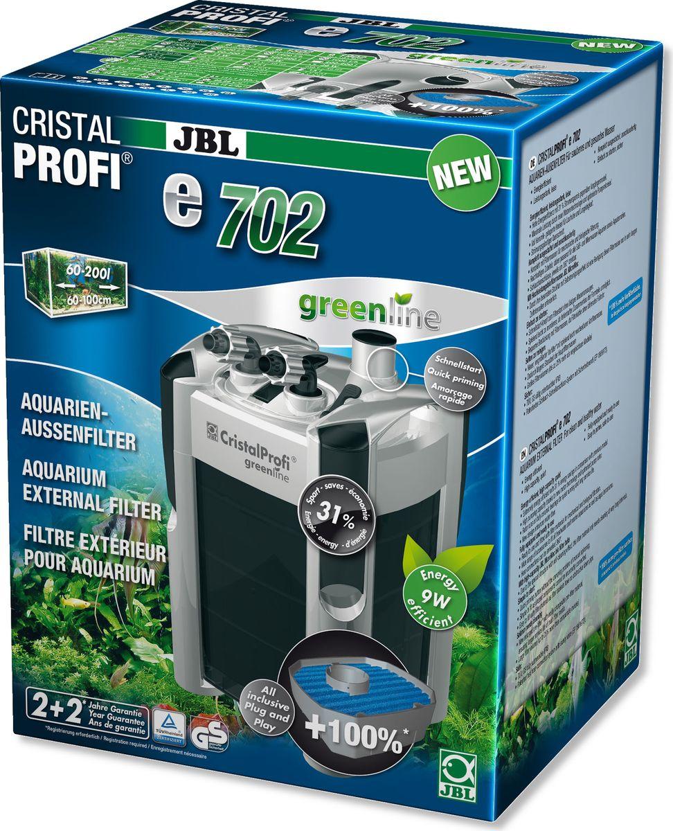 Фильтр внешний JBL CristalProfi e702 greenline +, для аквариумов объемом 60-200 л www барахолка аквариум 200 л в иваново