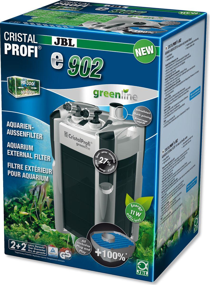 Фильтр внешний JBL CristalProfi e902 greenline +, для аквариумов объемом 90-300 лJBL6028200Внешний фильтр JBL CristalProfi e902 greenline + для чистой и здоровой воды в аквариуме. Закрытая система циркуляции воды для аквариумов 90-300 литров (80-120 см). Полностью оборудован и готов к подключению: встроенная система быстрого запуска означает запуск фильтра без всасывания воды. Простая сборка.Проверен, надежен и эффективен: меньше расход энергии по сравнению с аналогичными предшествующими моделями - производительность не падает.Особенности:- бесшумный;- высокая биоактивность при объеме 7,6 л;- остановка воды;- соединения -шлангов поворачиваются на 360°; - легко заменить фильтрующий материал.В комплекте: внешний фильтр для аквариума, в т. ч. шланги и трубки 12/16, решетка всасывания, уголок, присоски, фильтрующие материалы (шарики и губка биофильтрации).Технические характеристики:Объем 90-300 литров Производительность 900 л/ч Длина 18 см Ширина 20 см Высота 40 см Мощность 11 Вт Шланг 12/16.