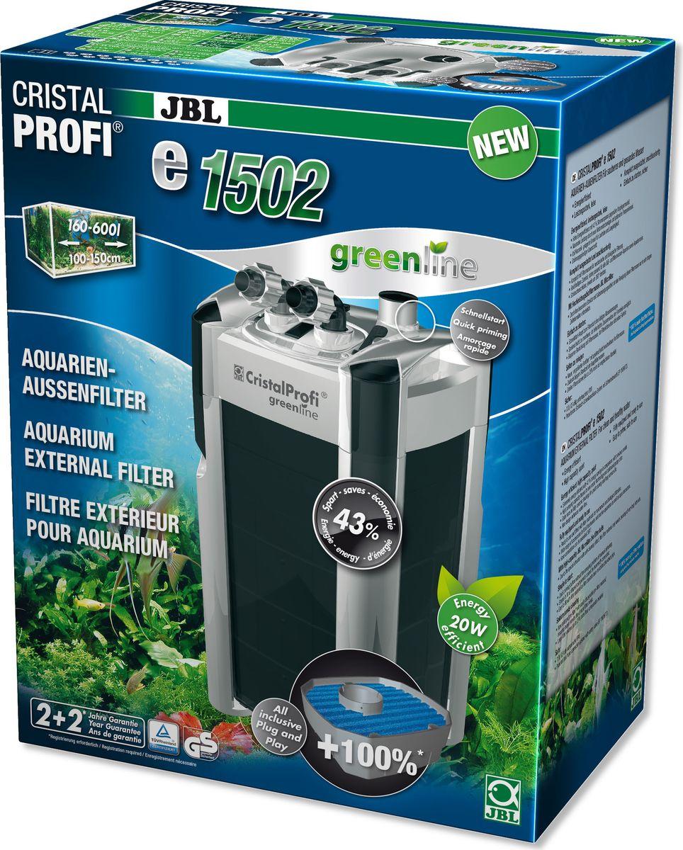 Фильтр внешний JBL  CristalProfi e1502 greenline + , для аквариумов объемом 200-700 л - Аксессуары для аквариумов