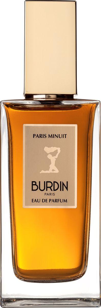 Burdin Paris Minuit парфюмерная вода, 100 млPMN30003Утонченная композиция Paris Minuit так же таинственна, как сама ночь. Она восхищает пикантным букетом пряных созвучий розового перца, лавровых листьев и цедры мандарина, пробуждает желание насладиться россыпью цветочных созвездий – изумительный альянс загадочного иланг-иланга, игривого флердоранж и сладкой гардении. Аромат словно напоминает нам о ярких городских огнях, отражающихся на небосклоне, позволяя вдоволь насладиться проникновенными и подлинно женственными примечаниями бархатной амбры, пленительной ванили и гипнотических пачулей. Композиция: мандарин, лавровое дерево, розовый перец, флердоранж, иланг-иланг, гардения, амбра, ваниль, пачулиКраткий гид по парфюмерии: виды, ноты, ароматы, советы по выбору. Статья OZON Гид