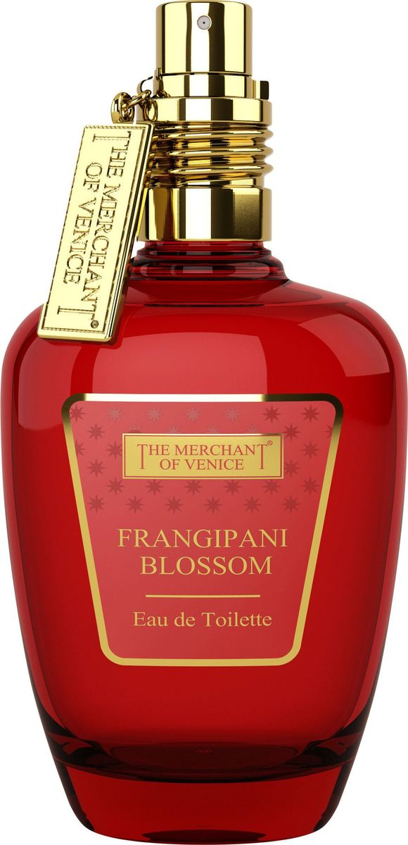 The Merchant of Venice Frangipani Blossom Туалетная вода, 50 мл the merchant of venice noble potion парфюмерная вода 100 мл