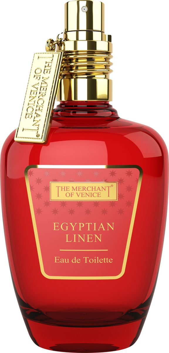 The Merchant of Venice Egyptian Linen Туалетная вода, 50 мл the merchant of venice noble potion парфюмерная вода 100 мл