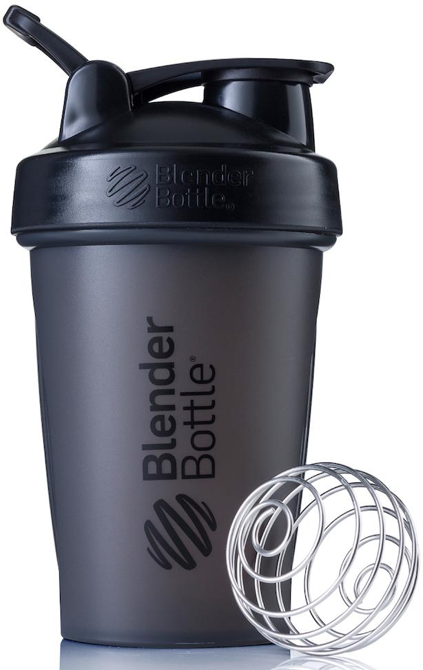 Шейкер спортивный BlenderBottle Classic Full Color, цвет: черный, 591 млBB-CL20-FBLKПростой. Мощный.Самый продаваемый шейкер в Мире.Classiсот компанииBlender Bottle- многофункциональный, удобный шейкер, который произвел революцию на рынке благодаря своим лидирующим качествам, а именно: 100% герметичности, концептуальному дизайну, максимальной смешиваемости ингредиентов и запатентованным опциям BlenderBall и StayOpen.Шарик-венчик BlenderBall- венчик из 316-хирургической нержавеющей стали, который не подвержен коррозии, легко моется и обеспечивает максимальную смешиваемость любых ингредиентов. ТехнологияStayOpen- инновационная функция шейкера, которая не позволяет крышке закрываться во время питья, что зачастую приносит неудобство и дискомфорт.Качественные материалы не содержат бисфенол (BPA, BPS и другие) и фталаты, благодаря чему шейкер абсолютно безопасен для здоровья. Шейкер герметично закрывается и не допускает протекания при переноске в сумке. Шейкер BlenderBottle Classic идеально подходит как для приготовления любых спортивных и фитнес коктейлей (протеинов, гейнеров, изотоников), так и разнообразных блюд дома.Особенности:- 100% герметичная конструкция- С круглым BlenderBall венчиком внутри- Маркирован тиснением на пластике в миллилитрах и унциях- Широкое горло позволяет легко добавлять ингредиенты- Крышка с резьбой - попадание в резьбу с первого раза- Система StayOpen flip cap - крышка не бьет по носу!- GripperBars - специальные ребра на бутылке, не выскальзывает из рук- Удобный широкий носик - приятно пить.- Можно мыть в посудомоечной машине- Подходит для большинства автомобильных подстаканников- Не содержит бисфенол и фталаты - лучший пластик, как у дорогих детских бутылочек- Защищен патентами США