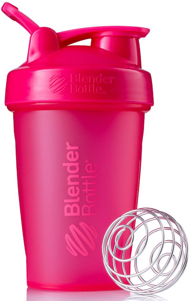 Шейкер спортивный BlenderBottle Classic Full Color, цвет: розовый, фуксия, 591 мл шейкер спортивный blenderbottle pro45 full color цвет черный 1 33 л