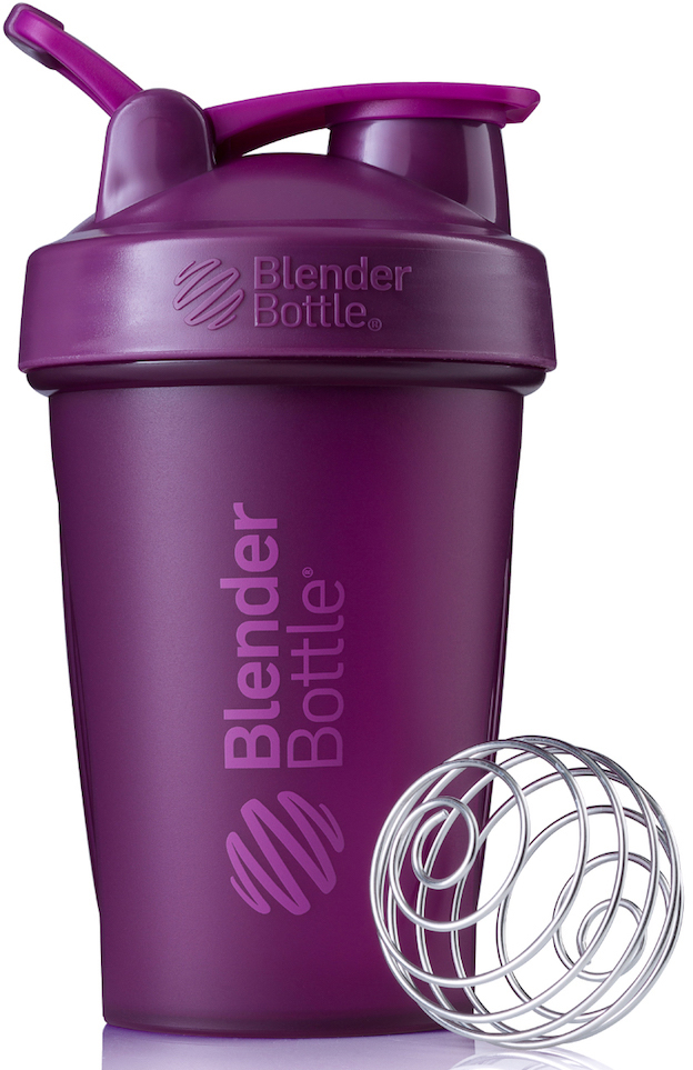 Шейкер спортивный BlenderBottle Classic Full Color, цвет: фиолетовый, 591 млBB-CL20-FPLUПростой. Мощный.Самый продаваемый шейкер в Мире.Classiсот компанииBlender Bottle- многофункциональный, удобный шейкер, который произвел революцию на рынке благодаря своим лидирующим качествам, а именно: 100% герметичности, концептуальному дизайну, максимальной смешиваемости ингредиентов и запатентованным опциям BlenderBall и StayOpen.Шарик-венчик BlenderBall- венчик из 316-хирургической нержавеющей стали, который не подвержен коррозии, легко моется и обеспечивает максимальную смешиваемость любых ингредиентов. ТехнологияStayOpen- инновационная функция шейкера, которая не позволяет крышке закрываться во время питья, что зачастую приносит неудобство и дискомфорт.Качественные материалы не содержат бисфенол (BPA, BPS и другие) и фталаты, благодаря чему шейкер абсолютно безопасен для здоровья. Шейкер герметично закрывается и не допускает протекания при переноске в сумке. Шейкер BlenderBottle Classic идеально подходит как для приготовления любых спортивных и фитнес коктейлей (протеинов, гейнеров, изотоников), так и разнообразных блюд дома.Особенности:- 100% герметичная конструкция- С круглым BlenderBall венчиком внутри- Маркирован тиснением на пластике в миллилитрах и унциях- Широкое горло позволяет легко добавлять ингредиенты- Крышка с резьбой - попадание в резьбу с первого раза- Система StayOpen flip cap - крышка не бьет по носу!- GripperBars - специальные ребра на бутылке, не выскальзывает из рук- Удобный широкий носик - приятно пить.- Можно мыть в посудомоечной машине- Подходит для большинства автомобильных подстаканников- Не содержит бисфенол и фталаты - лучший пластик, как у дорогих детских бутылочек- Защищен патентами США