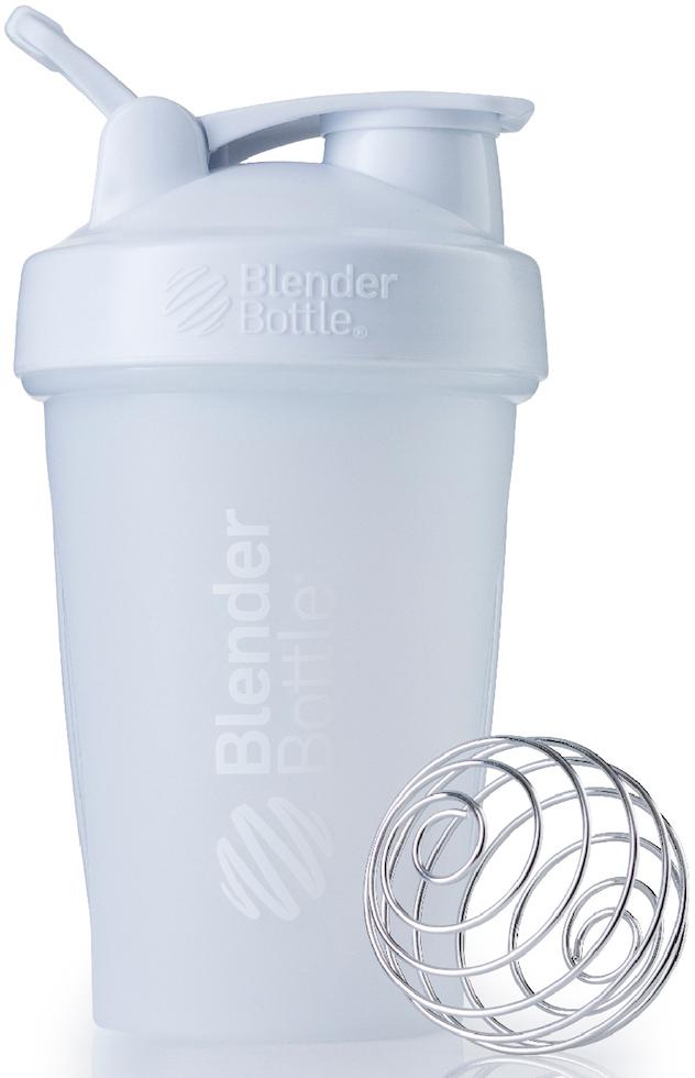 Шейкер спортивный BlenderBottle Classic Full Color, цвет: белый, 591 млBB-CL20-FWHIШейкер Classiсот компанииBlender Bottle- многофункциональный, удобный шейкер, который произвел революцию на рынке благодаря своим лидирующим качествам, а именно: 100% герметичности, концептуальному дизайну, максимальной смешиваемости ингредиентов и запатентованным опциям BlenderBall и StayOpen.Шарик-венчик BlenderBall- венчик из 316-хирургической нержавеющей стали, который не подвержен коррозии, легко моется и обеспечивает максимальную смешиваемость любых ингредиентов. ТехнологияStayOpen- инновационная функция шейкера, которая не позволяет крышке закрываться во время питья, что зачастую приносит неудобство и дискомфорт.Качественные материалы не содержат бисфенол (BPA, BPS и другие) и фталаты, благодаря чему шейкер абсолютно безопасен для здоровья. Шейкер герметично закрывается и не допускает протекания при переноске в сумке. Шейкер BlenderBottle Classic идеально подходит как для приготовления любых спортивных и фитнес коктейлей (протеинов, гейнеров, изотоников), так и разнообразных блюд дома.Особенности:- 100% герметичная конструкция- С круглым BlenderBall венчиком внутри- Маркирован тиснением на пластике в миллилитрах и унциях- Широкое горло позволяет легко добавлять ингредиенты- Крышка с резьбой - попадание в резьбу с первого раза- Система StayOpen flip cap - крышка не бьет по носу!- GripperBars - специальные ребра на бутылке, не выскальзывает из рук- Удобный широкий носик - приятно пить.- Можно мыть в посудомоечной машине- Подходит для большинства автомобильных подстаканников- Не содержит бисфенол и фталаты - лучший пластик, как у дорогих детских бутылочек- Защищен патентами США. Простой. Мощный.Самый продаваемый шейкер в Мире.Как повысить эффективность тренировок с помощью спортивного питания? Статья OZON Гид