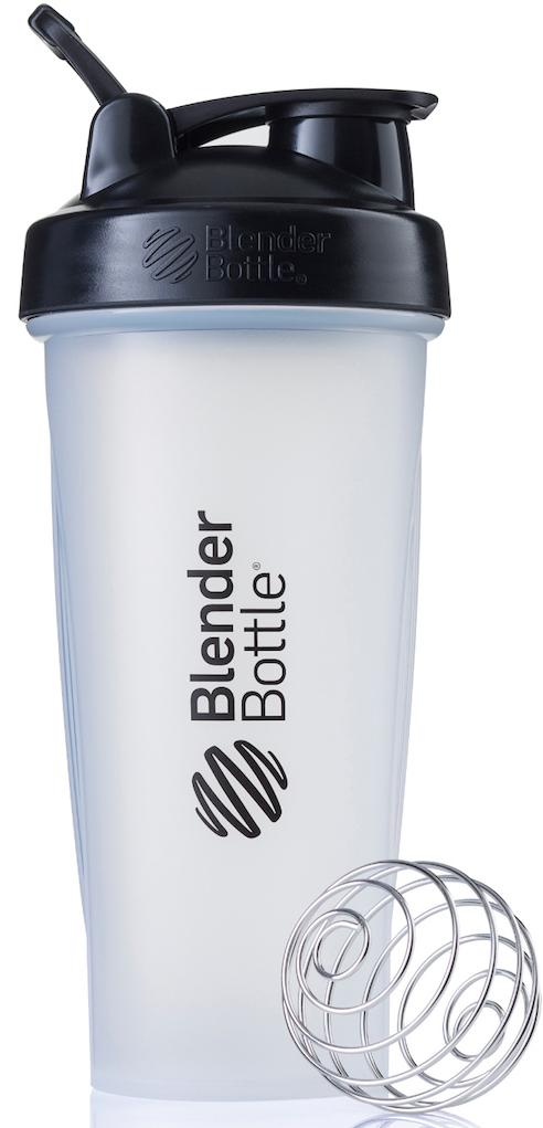 Шейкер спортивный BlenderBottle Classic, цвет: черный, прозрачный, 828 млBB-CL28-CBLKШейкер Classiсот компанииBlender Bottle- многофункциональный, удобный шейкер, который произвел революцию на рынке благодаря своим лидирующим качествам, а именно: 100% герметичности, концептуальному дизайну, максимальной смешиваемости ингредиентов и запатентованным опциям BlenderBall и StayOpen.Шарик-венчик BlenderBall- венчик из 316-хирургической нержавеющей стали, который не подвержен коррозии, легко моется и обеспечивает максимальную смешиваемость любых ингредиентов. ТехнологияStayOpen- инновационная функция шейкера, которая не позволяет крышке закрываться во время питья, что зачастую приносит неудобство и дискомфорт.Качественные материалы не содержат бисфенол (BPA, BPS и другие) и фталаты, благодаря чему шейкер абсолютно безопасен для здоровья. Шейкер герметично закрывается и не допускает протекания при переноске в сумке. Шейкер BlenderBottle Classic идеально подходит как для приготовления любых спортивных и фитнес коктейлей (протеинов, гейнеров, изотоников), так и разнообразных блюд дома.Особенности:- 100% герметичная конструкция- С круглым BlenderBall венчиком внутри- Маркирован тиснением на пластике в миллилитрах и унциях- Широкое горло позволяет легко добавлять ингредиенты- Крышка с резьбой - попадание в резьбу с первого раза- Система StayOpen flip cap - крышка не бьет по носу!- GripperBars - специальные ребра на бутылке, не выскальзывает из рук- Удобный широкий носик - приятно пить.- Можно мыть в посудомоечной машине- Подходит для большинства автомобильных подстаканников- Не содержит бисфенол и фталаты - лучший пластик, как у дорогих детских бутылочек- Защищен патентами США. Простой. Мощный.Самый продаваемый шейкер в мире.Как повысить эффективность тренировок с помощью спортивного питания? Статья OZON Гид