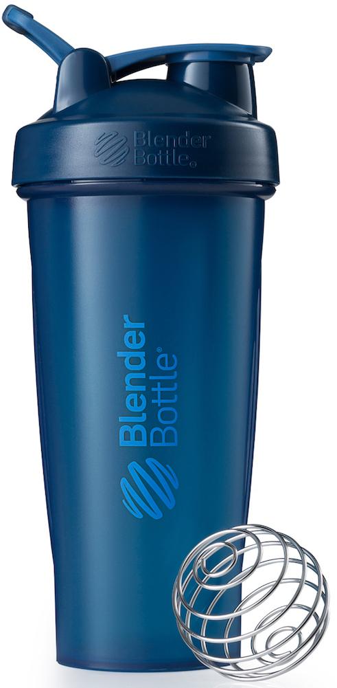 Шейкер спортивный BlenderBottle Classic Full Color, цвет: темно-синий, 828 млBB-CL28-FNAVПростой. Мощный.Самый продаваемый шейкер в Мире.Classiсот компанииBlender Bottle- многофункциональный, удобный шейкер, который произвел революцию на рынке благодаря своим лидирующим качествам, а именно: 100% герметичности, концептуальному дизайну, максимальной смешиваемости ингредиентов и запатентованным опциям BlenderBall и StayOpen.Шарик-венчик BlenderBall- венчик из 316-хирургической нержавеющей стали, который не подвержен коррозии, легко моется и обеспечивает максимальную смешиваемость любых ингредиентов. ТехнологияStayOpen- инновационная функция шейкера, которая не позволяет крышке закрываться во время питья, что зачастую приносит неудобство и дискомфорт.Качественные материалы не содержат бисфенол (BPA, BPS и другие) и фталаты, благодаря чему шейкер абсолютно безопасен для здоровья. Шейкер герметично закрывается и не допускает протекания при переноске в сумке. Шейкер BlenderBottle Classic идеально подходит как для приготовления любых спортивных и фитнес коктейлей (протеинов, гейнеров, изотоников), так и разнообразных блюд дома.Особенности:- 100% герметичная конструкция- С круглым BlenderBall венчиком внутри- Маркирован тиснением на пластике в миллилитрах и унциях- Широкое горло позволяет легко добавлять ингредиенты- Крышка с резьбой - попадание в резьбу с первого раза- Система StayOpen flip cap - крышка не бьет по носу!- GripperBars - специальные ребра на бутылке, не выскальзывает из рук- Удобный широкий носик - приятно пить.- Можно мыть в посудомоечной машине- Подходит для большинства автомобильных подстаканников- Не содержит бисфенол и фталаты - лучший пластик, как у дорогих детских бутылочек- Защищен патентами СШАКак повысить эффективность тренировок с помощью спортивного питания? Статья OZON Гид