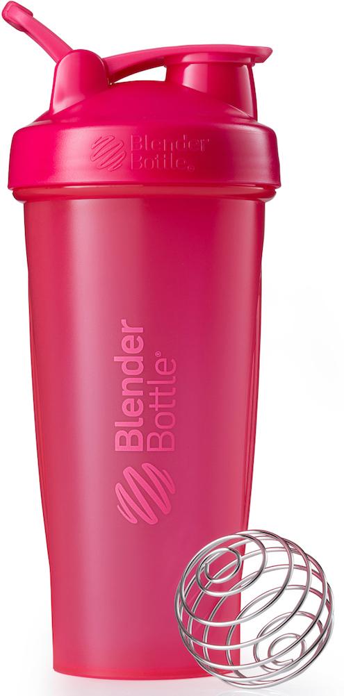 Шейкер спортивный BlenderBottle Classic Full Color, цвет: розовый, фуксия, 828 млBB-CL28-FPINШейкер Classiсот компанииBlender Bottle- многофункциональный, удобный шейкер, который произвел революцию на рынке благодаря своим лидирующим качествам, а именно: 100% герметичности, концептуальному дизайну, максимальной смешиваемости ингредиентов и запатентованным опциям BlenderBall и StayOpen.Шарик-венчик BlenderBall- венчик из 316-хирургической нержавеющей стали, который не подвержен коррозии, легко моется и обеспечивает максимальную смешиваемость любых ингредиентов. ТехнологияStayOpen- инновационная функция шейкера, которая не позволяет крышке закрываться во время питья, что зачастую приносит неудобство и дискомфорт.Качественные материалы не содержат бисфенол (BPA, BPS и другие) и фталаты, благодаря чему шейкер абсолютно безопасен для здоровья. Шейкер герметично закрывается и не допускает протекания при переноске в сумке. Шейкер BlenderBottle Classic идеально подходит как для приготовления любых спортивных и фитнес коктейлей (протеинов, гейнеров, изотоников), так и разнообразных блюд дома.Особенности:- 100% герметичная конструкция- С круглым BlenderBall венчиком внутри- Маркирован тиснением на пластике в миллилитрах и унциях- Широкое горло позволяет легко добавлять ингредиенты- Крышка с резьбой - попадание в резьбу с первого раза- Система StayOpen flip cap - крышка не бьет по носу!- GripperBars - специальные ребра на бутылке, не выскальзывает из рук- Удобный широкий носик - приятно пить.- Можно мыть в посудомоечной машине- Подходит для большинства автомобильных подстаканников- Не содержит бисфенол и фталаты - лучший пластик, как у дорогих детских бутылочек- Защищен патентами США.Простой. Мощный.Самый продаваемый шейкер в мире.Как повысить эффективность тренировок с помощью спортивного питания? Статья OZON Гид