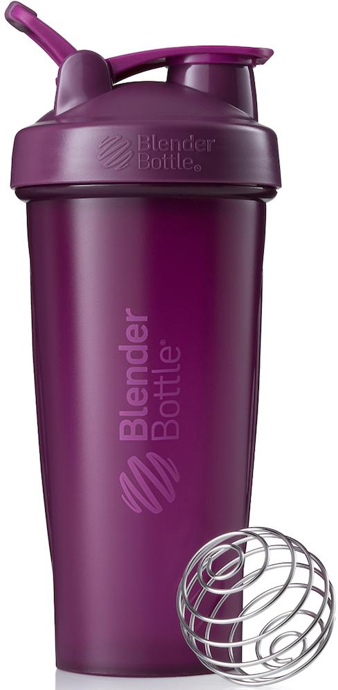 Шейкер спортивный BlenderBottle Classic Full Color, цвет: фиолетовый, 828 млBB-CL28-FPLUШейкер Classiсот компанииBlender Bottle- многофункциональный, удобный шейкер, который произвел революцию на рынке благодаря своим лидирующим качествам, а именно: 100% герметичности, концептуальному дизайну, максимальной смешиваемости ингредиентов и запатентованным опциям BlenderBall и StayOpen.Шарик-венчик BlenderBall- венчик из 316-хирургической нержавеющей стали, который не подвержен коррозии, легко моется и обеспечивает максимальную смешиваемость любых ингредиентов. ТехнологияStayOpen- инновационная функция шейкера, которая не позволяет крышке закрываться во время питья, что зачастую приносит неудобство и дискомфорт.Качественные материалы не содержат бисфенол (BPA, BPS и другие) и фталаты, благодаря чему шейкер абсолютно безопасен для здоровья. Шейкер герметично закрывается и не допускает протекания при переноске в сумке. Шейкер BlenderBottle Classic идеально подходит как для приготовления любых спортивных и фитнес коктейлей (протеинов, гейнеров, изотоников), так и разнообразных блюд дома.Особенности:- 100% герметичная конструкция- С круглым BlenderBall венчиком внутри- Маркирован тиснением на пластике в миллилитрах и унциях- Широкое горло позволяет легко добавлять ингредиенты- Крышка с резьбой - попадание в резьбу с первого раза- Система StayOpen flip cap - крышка не бьет по носу!- GripperBars - специальные ребра на бутылке, не выскальзывает из рук- Удобный широкий носик - приятно пить.- Можно мыть в посудомоечной машине- Подходит для большинства автомобильных подстаканников- Не содержит бисфенол и фталаты - лучший пластик, как у дорогих детских бутылочек- Защищен патентами США.Простой. Мощный.Самый продаваемый шейкер в мире.Как повысить эффективность тренировок с помощью спортивного питания? Статья OZON Гид
