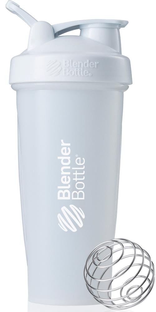 Шейкер спортивный BlenderBottle Classic Full Color, цвет: белый, 828 млBB-CL28-FWHIПростой. Мощный.Самый продаваемый шейкер в Мире.Classiсот компанииBlender Bottle- многофункциональный, удобный шейкер, который произвел революцию на рынке благодаря своим лидирующим качествам, а именно: 100% герметичности, концептуальному дизайну, максимальной смешиваемости ингредиентов и запатентованным опциям BlenderBall и StayOpen.Шарик-венчик BlenderBall- венчик из 316-хирургической нержавеющей стали, который не подвержен коррозии, легко моется и обеспечивает максимальную смешиваемость любых ингредиентов. ТехнологияStayOpen- инновационная функция шейкера, которая не позволяет крышке закрываться во время питья, что зачастую приносит неудобство и дискомфорт.Качественные материалы не содержат бисфенол (BPA, BPS и другие) и фталаты, благодаря чему шейкер абсолютно безопасен для здоровья. Шейкер герметично закрывается и не допускает протекания при переноске в сумке. Шейкер BlenderBottle Classic идеально подходит как для приготовления любых спортивных и фитнес коктейлей (протеинов, гейнеров, изотоников), так и разнообразных блюд дома.Особенности:- 100% герметичная конструкция- С круглым BlenderBall венчиком внутри- Маркирован тиснением на пластике в миллилитрах и унциях- Широкое горло позволяет легко добавлять ингредиенты- Крышка с резьбой - попадание в резьбу с первого раза- Система StayOpen flip cap - крышка не бьет по носу!- GripperBars - специальные ребра на бутылке, не выскальзывает из рук- Удобный широкий носик - приятно пить.- Можно мыть в посудомоечной машине- Подходит для большинства автомобильных подстаканников- Не содержит бисфенол и фталаты - лучший пластик, как у дорогих детских бутылочек- Защищен патентами США